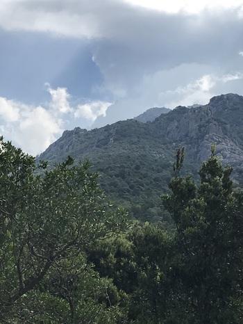 La montagne de Cagna