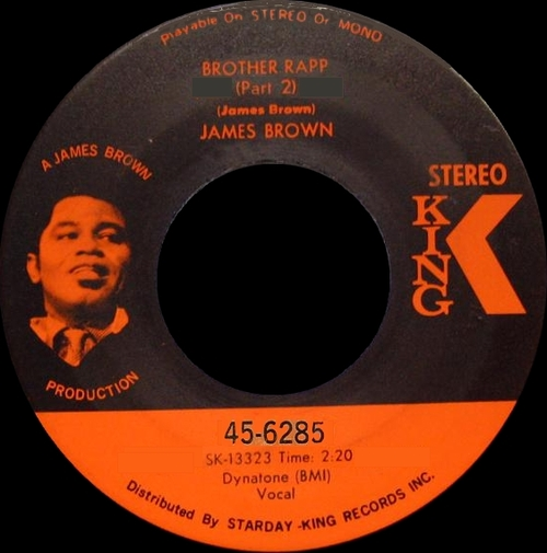 James Brown : Single SP King Records 45-6285 [ US ] Unreleased