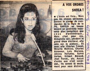 12 mars 1967 / SOIRÉE ELECTIONS