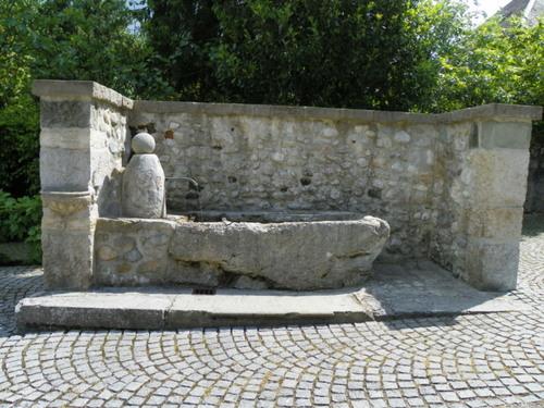 La fontaine du prieuré Saint-Maurice