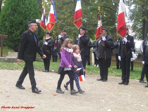René Drappier s'est rendu aux cérémonies du 11 novembre 2019