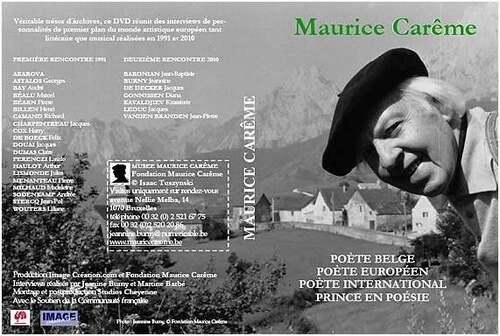 13 janvier 1 978  :  mort de Maurice Carême