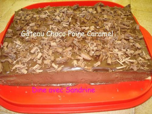 Un Gâteau Poires Chocolat
