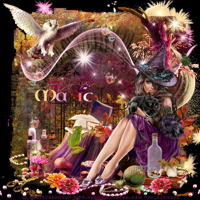 """Créations modèle """"Color Magic"""" de My dreamy Tag Creations"""