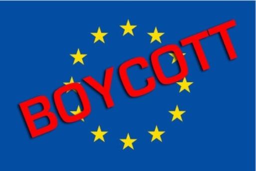 Pour dire NON à l'UE et fucker les fachos et tous les politicards au service du capital >> BOYCOTT !!!