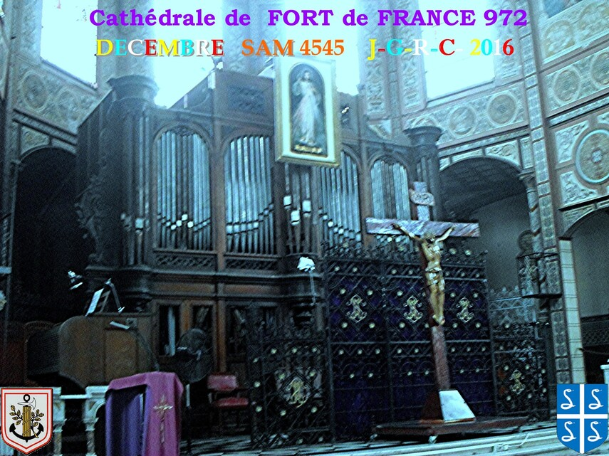 EGLISE DE MARTINIQUE:  Cathédrale de FORT de FRANCE  3/5       D    20/05/2017