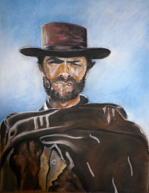 Pastel: Clint Eastwood