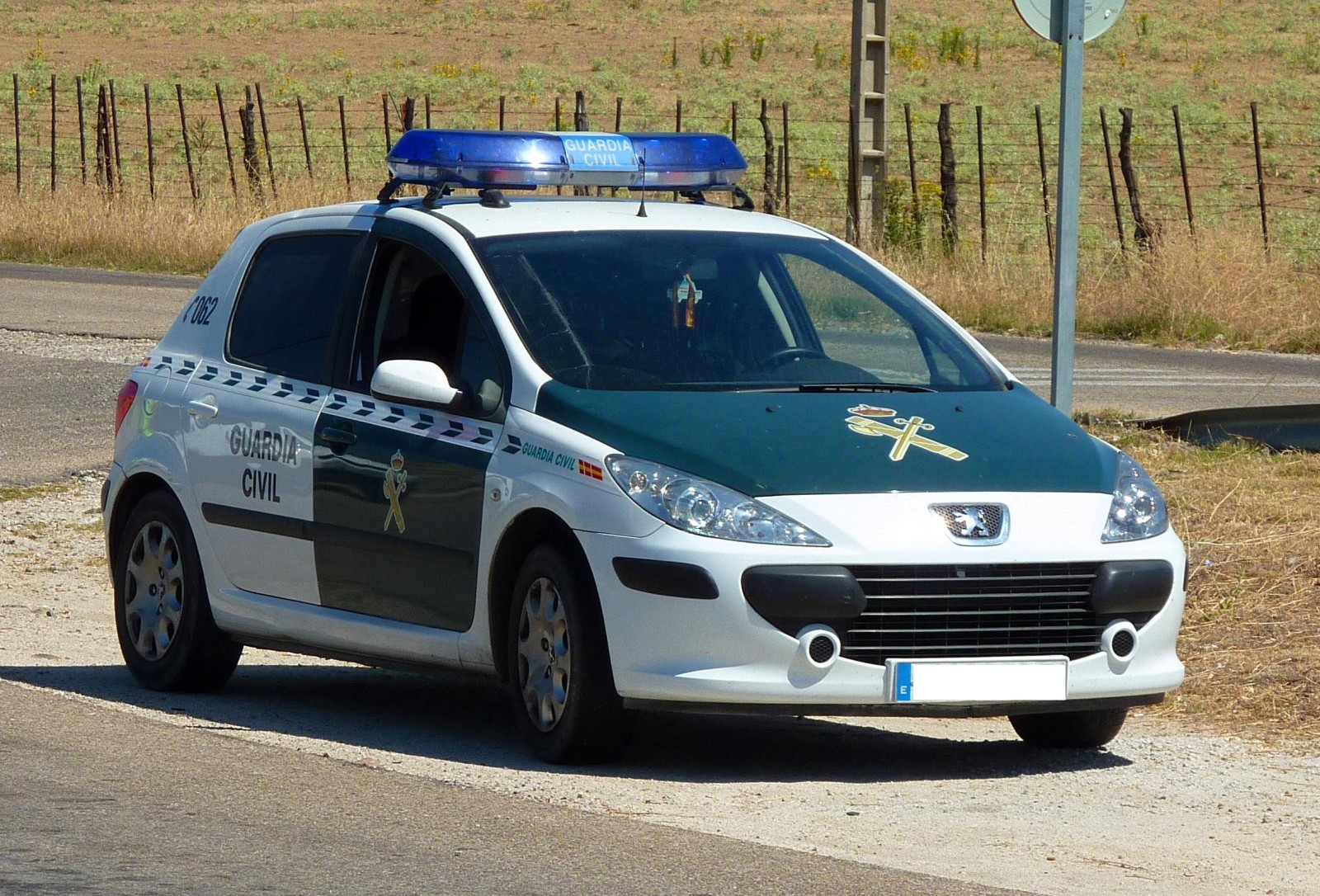 Peugeot 307 Guardia Civil-2