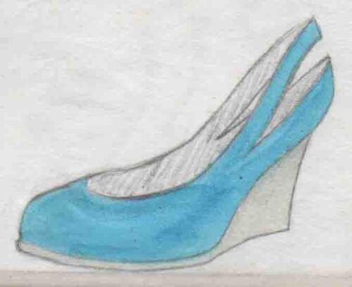 sandales, souliers, talons, stilettos