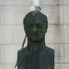 le buste de Brillat Savarin, natif de la ville de Belley