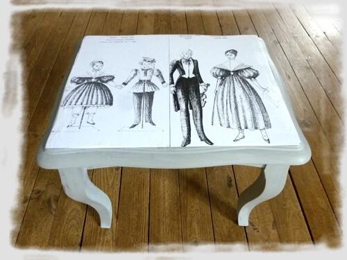 Mes petites tables en restauration!