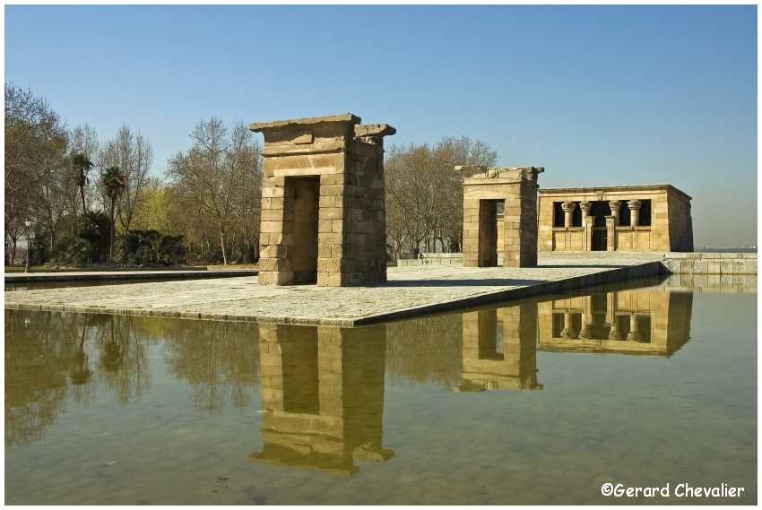 Madrid - Temple d'Amon (Debod) 6