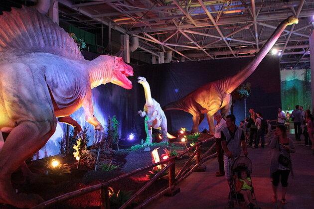 L'Ere des Dinosaures à l'Ere de Glace à Paris Expo