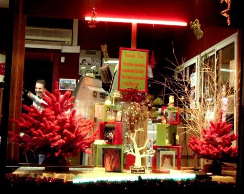Vitrines de fêtes à Châtillon sur Seine en 2012