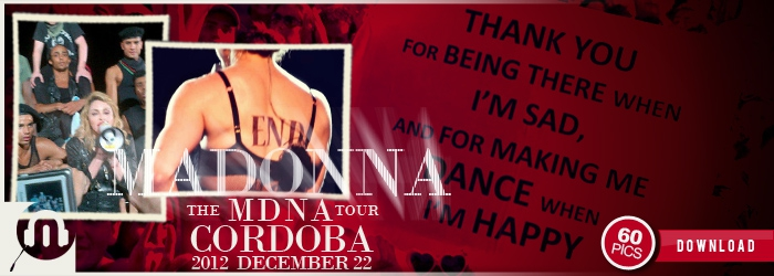 The MDNA Tour - Cordoba Final Show - Pictures