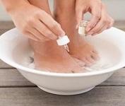 pédicure bain de pieds