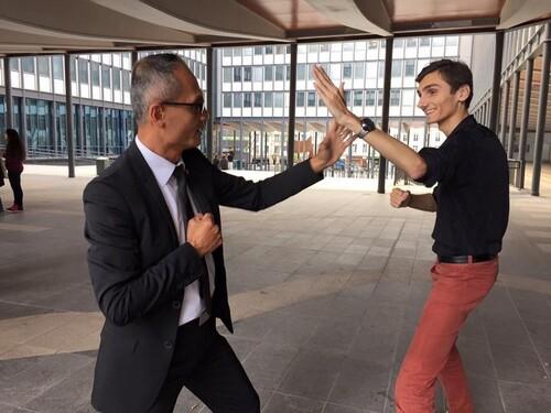 Figth entre le Proviseur 2.0 avec Eliott Nouaille, président du Syndicat Général des Lycéens