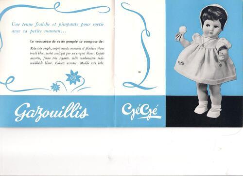 Série les petites filles de france (habillage 2)