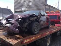 Accident de la route dans le Rang St-Michel, une personne blessé