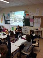 témoignages pour des élèves du CM1 au CM2 à l'école du Clos de la Motte à Pellouilles les Vignes 2/02/2017