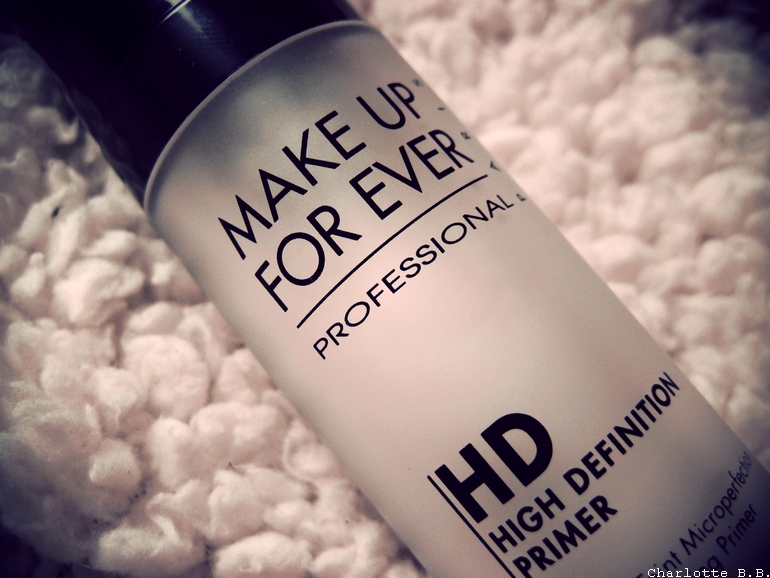 [Review] Base HD neutre de Make Up For Ever.