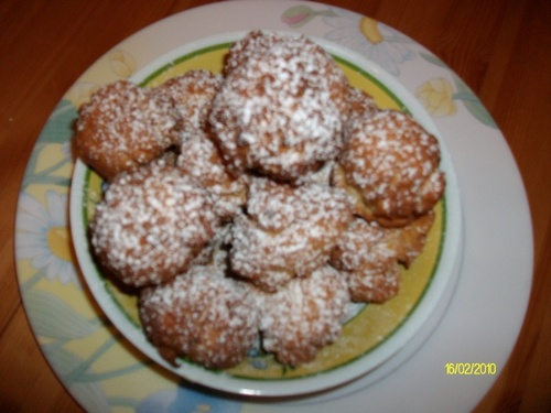 BEIGNETS  AU  FROMAGE  BLANC.