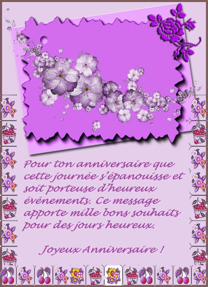 Joyeux Anniversaire Carinne Fidji La Bidouille