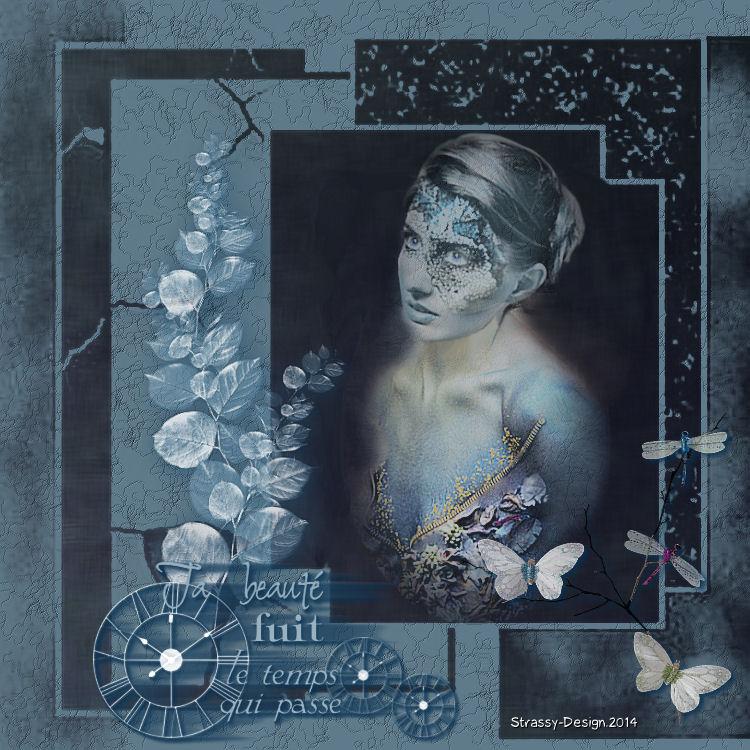 Femme bleutée - Chez Pacha