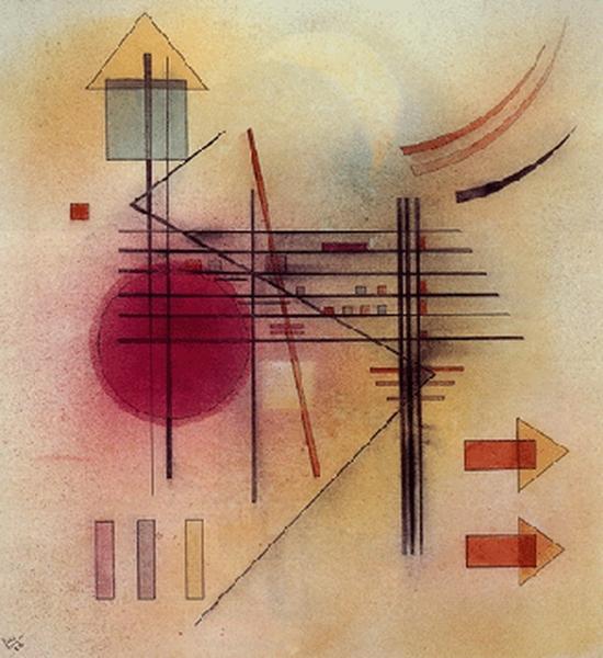 Wassily Kandinsky, Vibrierend, 1928