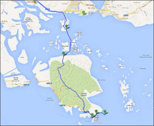 Patrimoine mondial de l'Unesco : La baie d'Along - Vietnam -