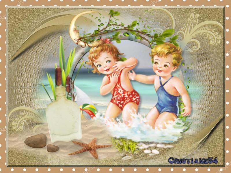 Sur les plages d'Oran  pout Beauty !