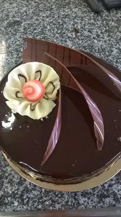 Suprème au chocolat