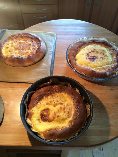 gâteaux de ménage
