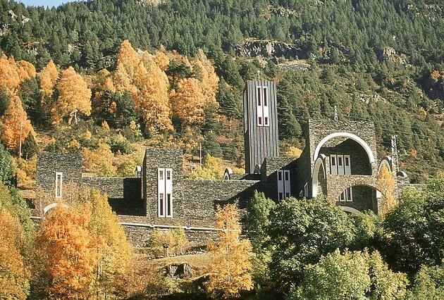 Sanctuaire de Meritxell, Andorre