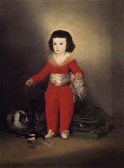 Goya 3 /  Portraits de cour...portraits royaux ...