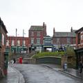 Une rue du village reconstituée