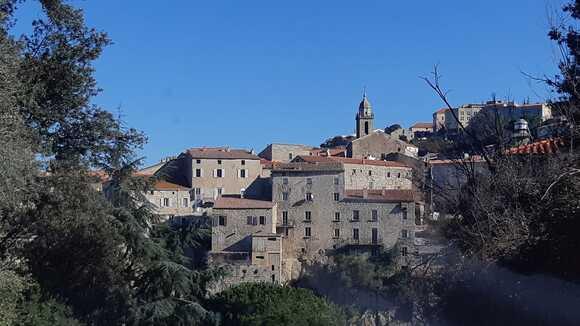 Centre Corse  - Piana - Marignana