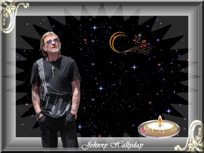 Johnny Hallyday... La nuit