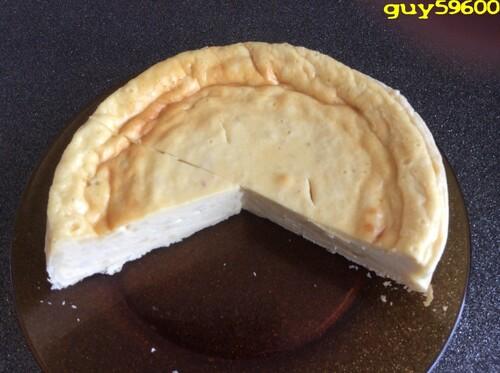 tarte au fromage blanc et limoncello