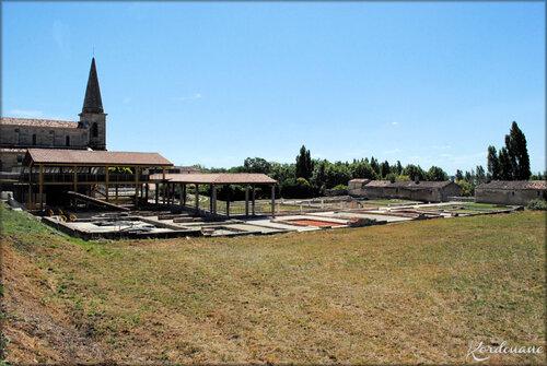 Villa gallo-romaine - Deplessac - Gironde