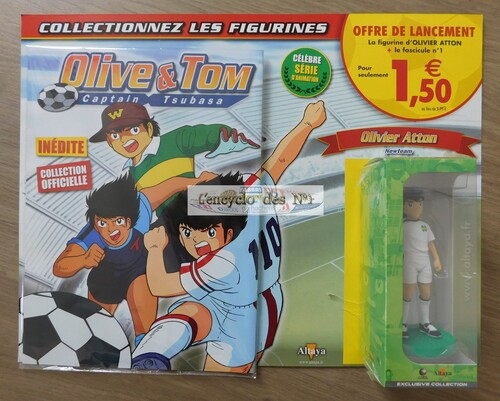 N° 1 Figurines Olive & Tom Captain Tsubasa - Lancement