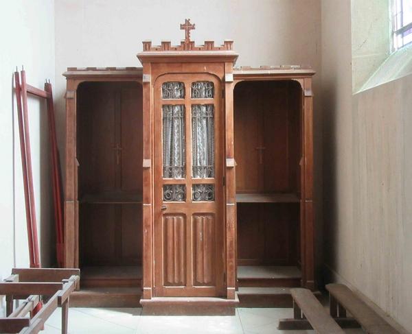 Les confessionnaux sont encore bien présents dans nos églises Châtillonnaises !