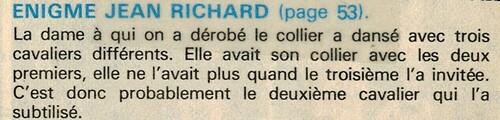 enquête de Jean Richard n° 16