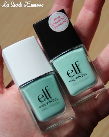 mint cream, elf, compraison