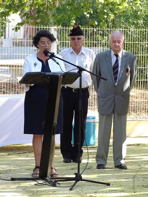 * VAR : Cérémonies du souvenir des combattants de la 1ère DFL dans la Libération de la Provence
