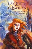 Couverture de La Quête d'Ewilan, Tome 3 : L'Île du Destin