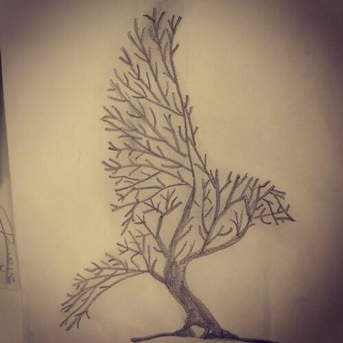 Oiseau ou arbre ?