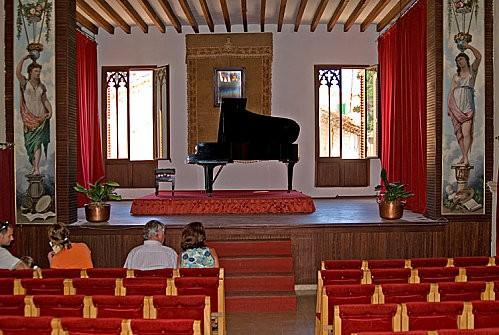Chopin Valldemossa.salle de concert pr touristes