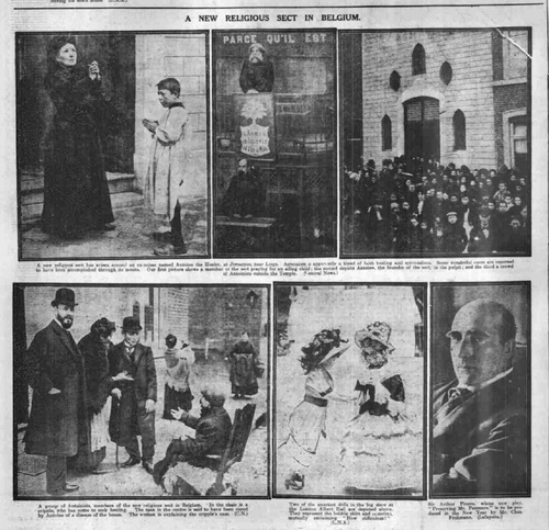 A New Religious Sect in Belgium (Leeds Mercury, Wednesday 14 December 1910)(britishnewspaperarchive.co.uk)
