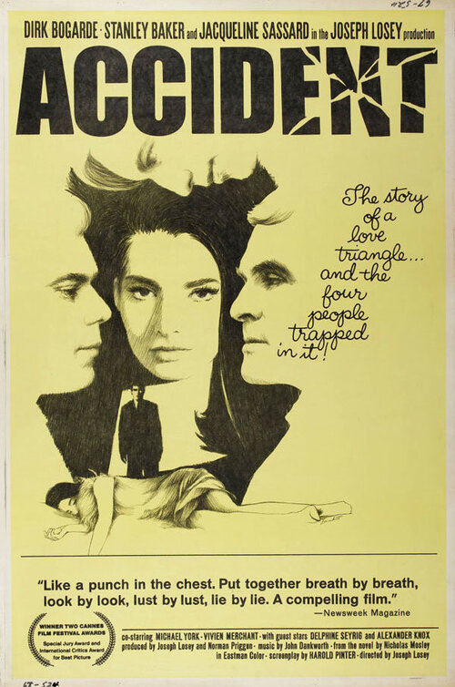ACCIDENT box office USA 1967